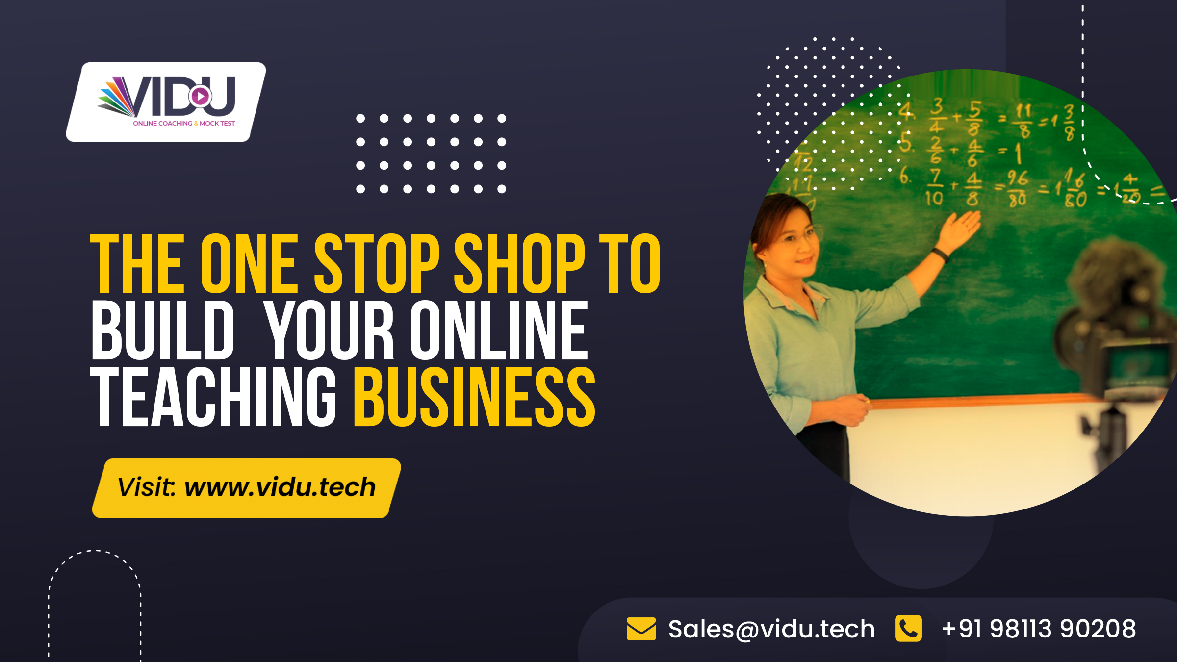 build your online teaching academy.