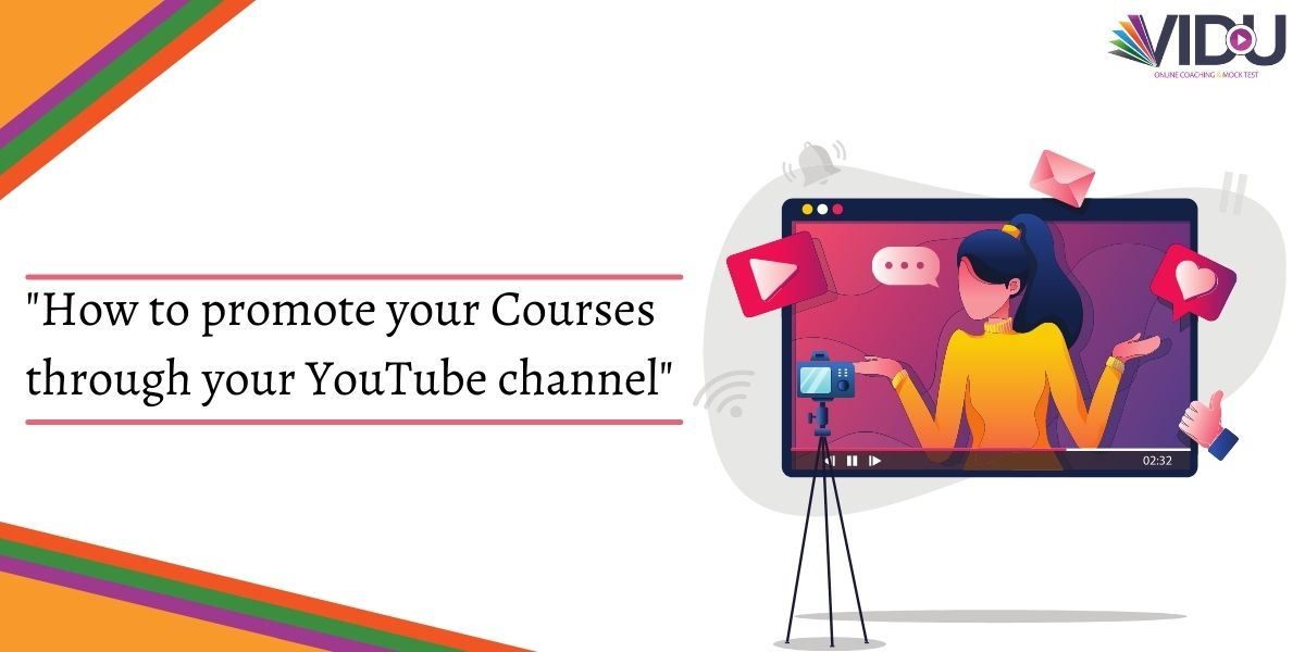 how to promote courses on youtube