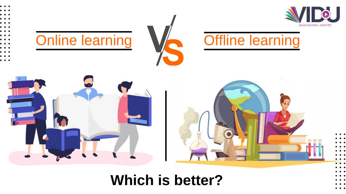 is online learning better than offline learning